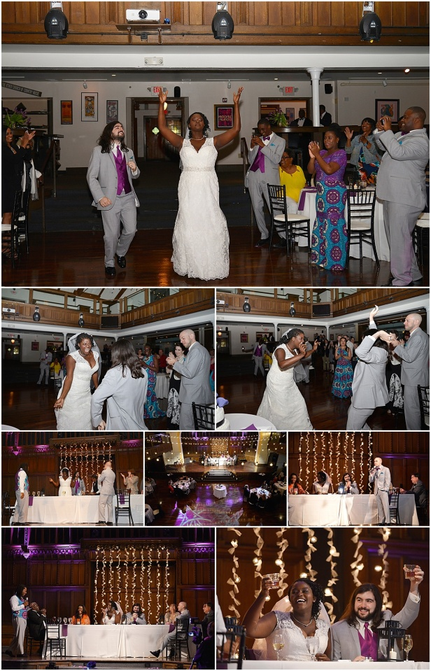 The Bluestone wedding reception columbus Ohio
